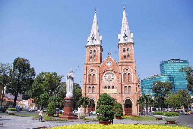 Saigon Notre-Dame-Kathedrale