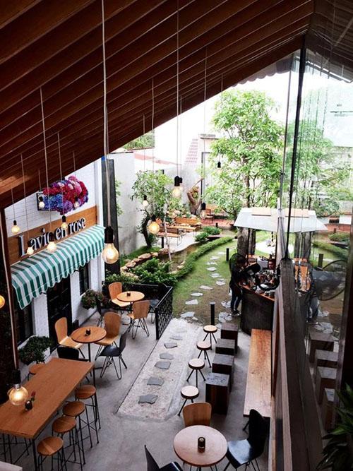 MiA Garten Kaffee auf Nguyen Duy Trinh Straße im Bezirk 2