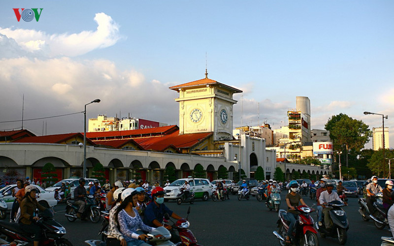 Ben Thanh is one of the oldest markets in HCM City