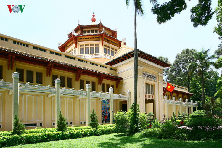 The Museum of Vietnam History was built from 1926 to 1928.  It showcases Vietnam's history with exhibits from all periods.