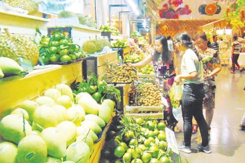 Saigon Fruit Messe, ein neuer Treffpunkt für Saigonese