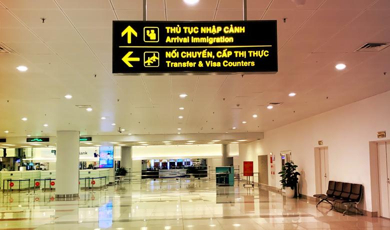 Прибытие вьетнамской визы
